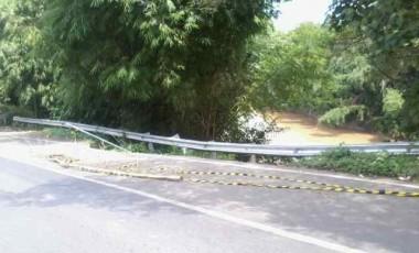 Jalinsum Desa Darmo Amblas, Pengendara Mesti Waspada
