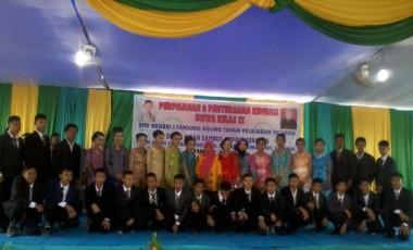 SMP Negeri 1 Tanjung Agung Gelar Pisah Sambut dan Pelepasan Siswa/i Kelas IX