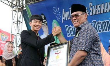 Lomba Melemang di Muara Enim Masuk Museum Rekor Dunia Indonesia