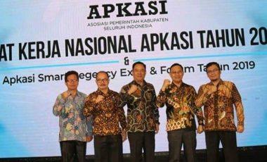 Wabup Juarsah Hadiri Rapat Kerja Apkasi 2019