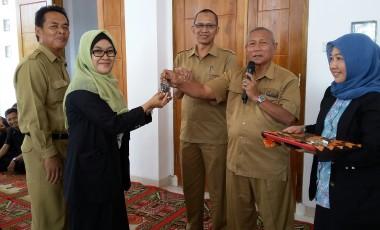 Yayasan Bukit Asam Serahkan Kunci Gedung Baru SMK BA