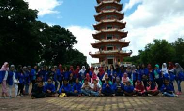 Siswa SMAN 1 Laki Kunjungi Lokasi Bersejarah di Palembang