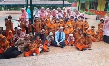 Arief Rahman Kunjungi Paud Antrasita
