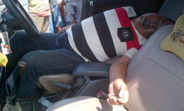 Warga Tanjung Enim Digegerkan Dengan Penemuan Mayat di Dalam Mobil