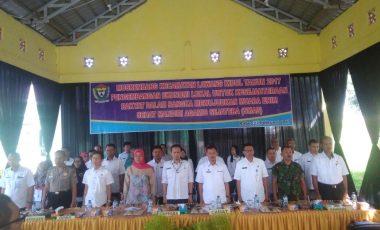 Pemerintah Kecamatan Lawang Kidul Terima 560 Usulan Musrenbang