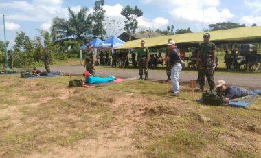 60 Peserta Ikuti Lomba Menembak Eksekutif Rindam II/ Sriwijaya