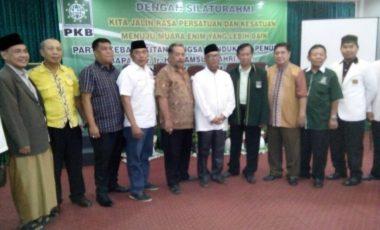 DPC PKB Muara Enim Nyatakan Dukungan Penuh pada Syamsul Bahri di Pilkada 2018