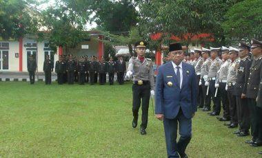 Bupati Muara Enim Minta Polisi Tingkatkan Pelayanan Kepada Masyarakat