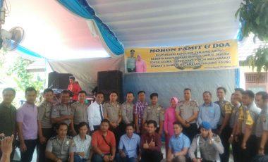 Pindah Tugas, Kapolsek Tanjung Agung Gelar Acara Pamitan dan Doa