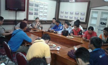 Lecehkan Profesi Wartawan, Jurnalis Muara Enim Gelar Aksi Solidaritas