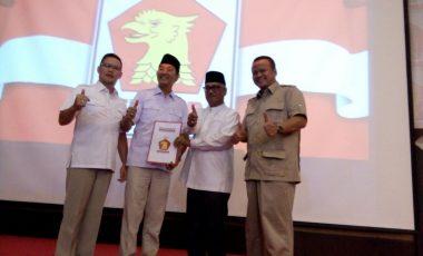 Ingin Muara Enim Lebih Baik, Partai Gerindra Usung Syamsul Bahri pada Pilkada 2018