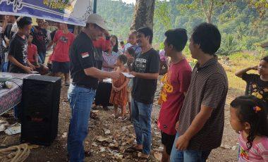 Karang Taruna Desa Lambur dan Pagar Jati Antusias Dengarkan Visi Misi AY-HJ