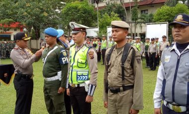 Polres Muara Enim Gelar Operasi Patuh 2018, Pelanggaran Ini Akan Ditindak
