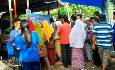 Masyarakat Desa Kepur Antusias Gunakan Hak Pilihnya