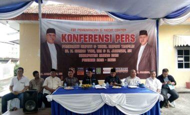 Pasangan Ahmad Yani dan Juarsah Sambut Baik Hasil Rapat Pleno KPUD Muara Enim