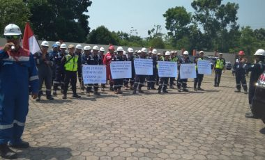 Giliran Karyawan PT PGE Datangi Kantor DPRD Muara Enim