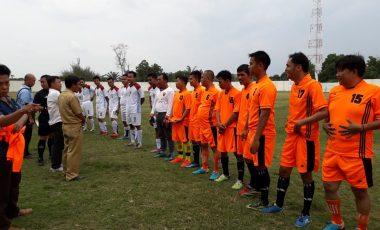Sepakbola Ceria Semarakan HUT Kabupaten Muara Enim Ke-72