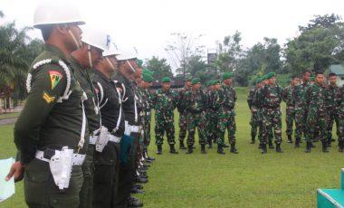 Tegakan Ketertiban, Prajurit Yonif 141/ AYJP Ikuti Sosialisasi Gaktib