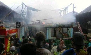 Si Jago Merah Kembali Mengamuk di Semende, Satu Rumah Ludes Terbakar