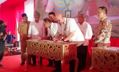 Pencanangan Jalan Tol Muara Enim – Indralaya dan Muara Enim – Lubuk Linggau Dihadiri Langsung Menteri PU PR dan Menteri Perhubungan