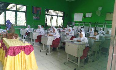 133 Pelajar MIN 1 Muara Enim Ikuti USBN