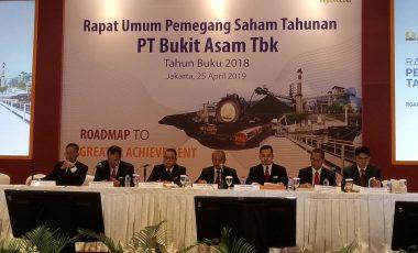 2019, PTBA Optimis Penjualan Batubara Capai 28,38 Juta Ton