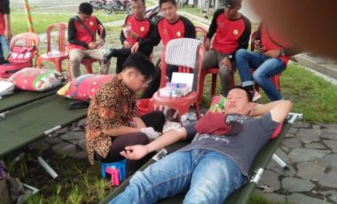 Bantu PMI Muara Enim, PKB TEF Gelar Kegiatan Donor Darah