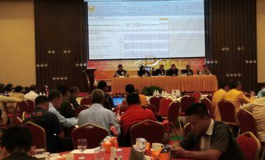 KPUD Muara Enim Gelar Rapat Pleno Rekapitulasi Tingkat Kabupaten