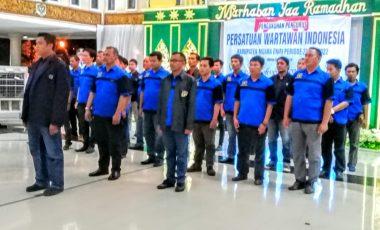 Pengurus PWI Muara Enim Periode 2019-2022 Resmi Dilantik