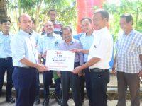 Tunjukan Kepedulian, PT TEL PP Berikan Bantuan Sumur Bor dan MCK