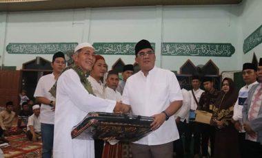 Safari Ramadhan, Bupati Muara Enim Sambangi Warga Desa Lubuk Raman