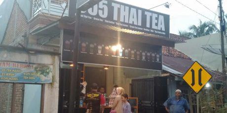 Kedai Thai Iced Tea 555 Hadir di Kota Muara Enim