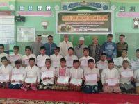 Warga Binaan Lapas Klas IIB Muara Enim Khatamkan Baca Qur'an