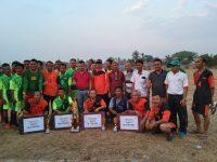 Semarakan HUT RI ke-74, Kecamatan Lawang Kidul Gelar Turnamen Bola U-40