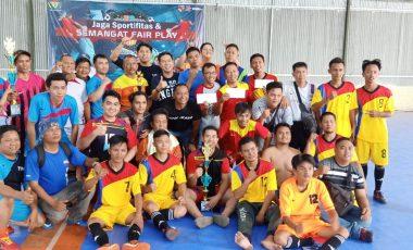 Pererat Silaturahmi, Humas Protokol Pemkab Muara Enim Gelar Futsal Bareng Insan Pers