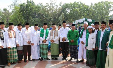 Peringati Hari Santri, Ribuan Santri dan Pelajar Padati Lapangan Merdeka Muara Enim