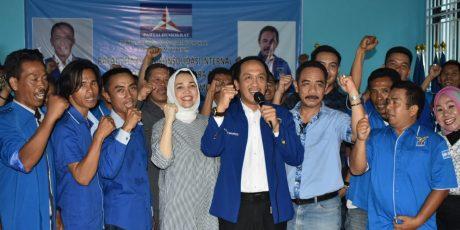Wahyu Sanjaya Pimpin DPC Partai Demokrat Muara Enim