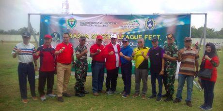 32 Tim U-14 Ikuti Festival Serasan Soccer League Fest