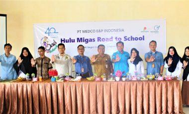 Sosialisasikan Bahaya NAPZA, PT Medco E&P Gelar Kunjungi Sekolah