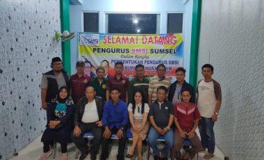 Pengurus SMSI Kabupaten Muara Enim Resmi Terbentuk