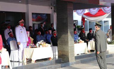 Upacara Peringatan HUT RI ke-75 di Muara Enim berlangsung Khidmat