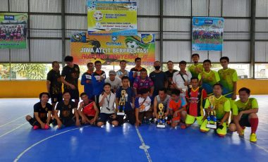 Semarakan HUT Muara Enim ke-74, PWI Muara Enim Gelar Turnamen Futsal Bareng ULP dan Kominfo