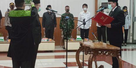 Gubernur Sumsel Resmi Lantik Emran Tabrani Sebagai Penjabat Sekda Muara Enim