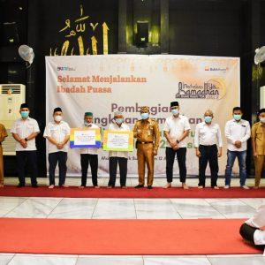 Jelang Ramadhan 1442 H, PTBA Makmurkan 74 Masjid dan 62 Musholla