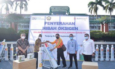 Komitmen Cegah Covid-19, PTBA Salurkan Faskes untuk 3 Kecamatan
