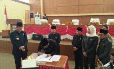 Pemkab dan DPRD Muara Enim Sepakati Kecamatan Gelumbang Jadi DOB