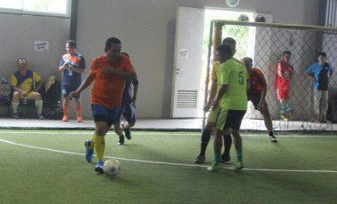 Peringati HPN, Polres Muara Enim Bersama Wartawan Gelar Futsal Bareng