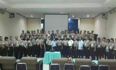 50 Personel Polres Muara Enim Ikuti Pelatihan Kehumasan dan Jurnalistik