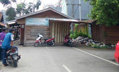 Ganggu Akses Jalan, KPUD Muara Enim Minta Lapak Pedagang Dipindah
