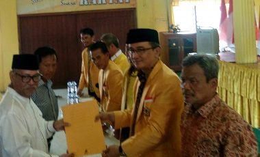 Ini Yang Membuat DPD Partai Golkar Provinsi Sumsel Rekomendasikan Syamsul Bahri pada Pilkada 2018